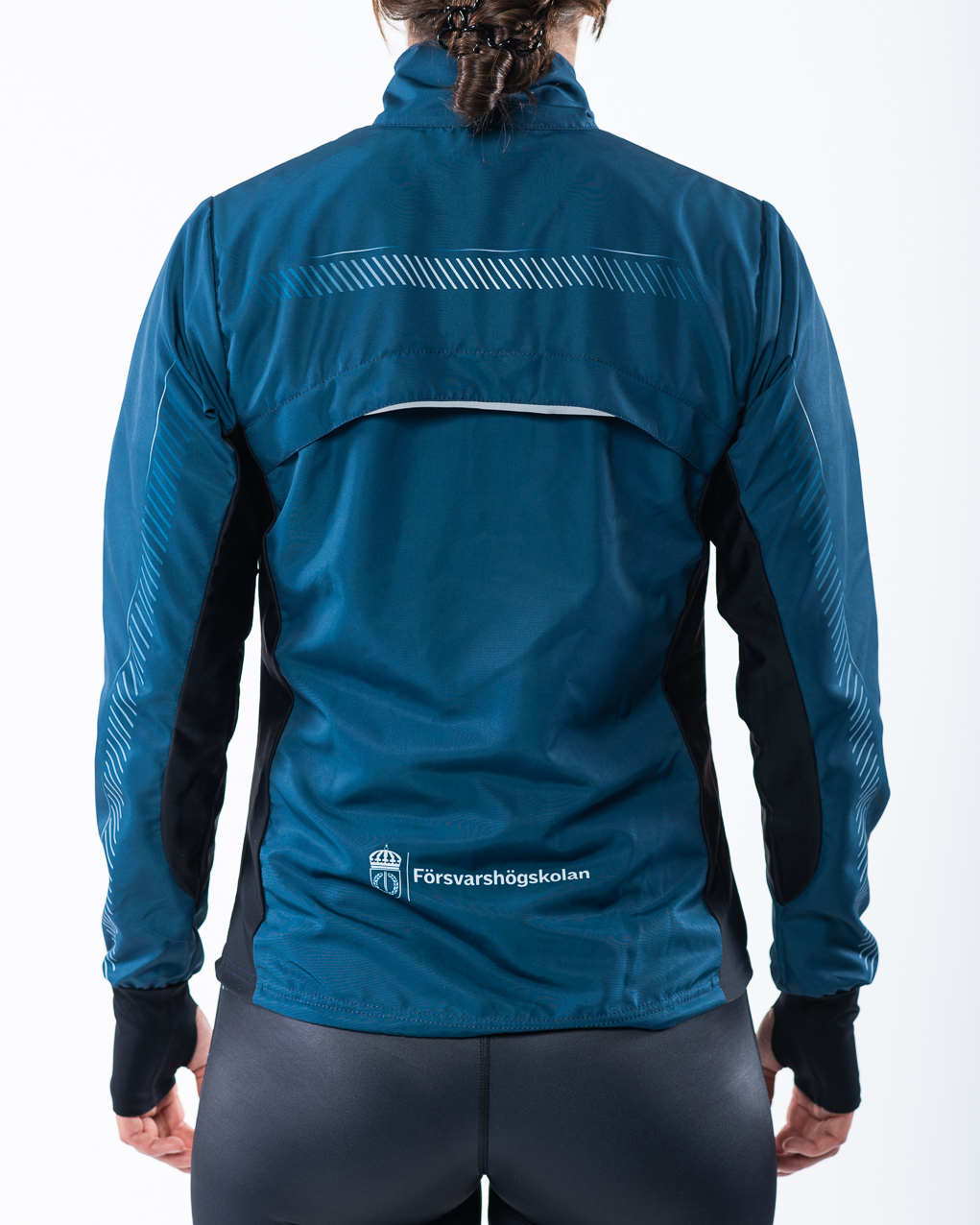 Women's running jacket back