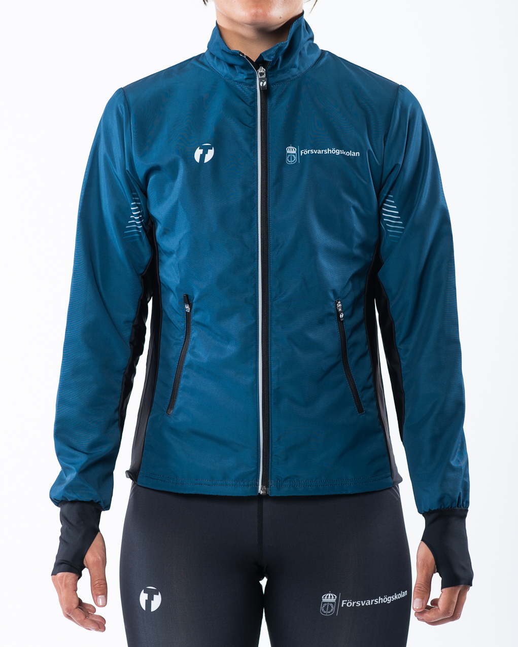 Women's running jacket front